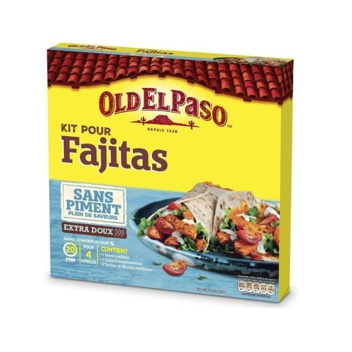 OLD EL PASO Kit pour Fajitas - Sans Piment