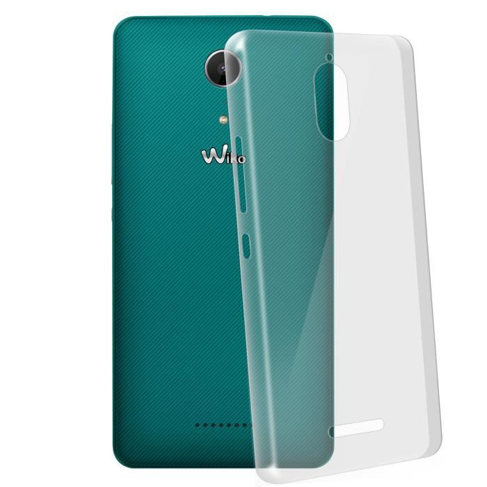 Coque Crystal Wiko Tommy 2 Plus