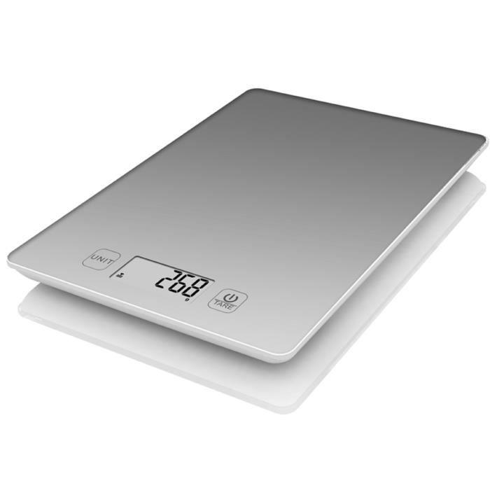TERRAILLON balance culinaire électronique 3kg grise