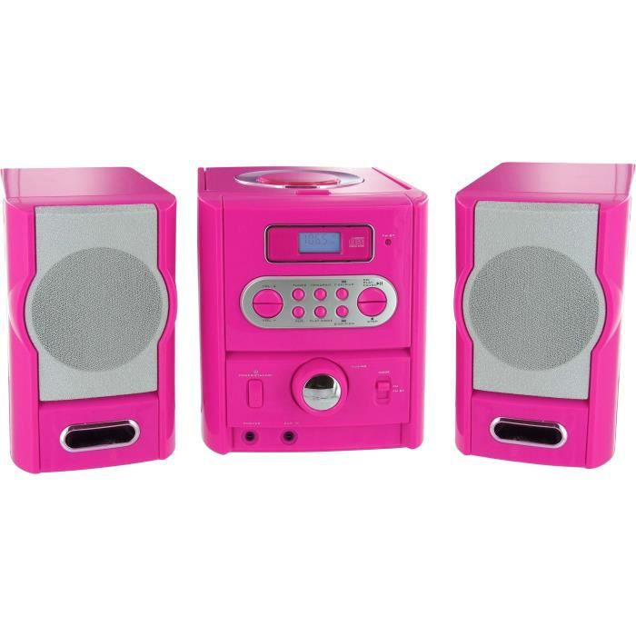 Compatible CD/CD-R/CD-RW/MP3 - Radio PLL FM Stéréo - Port USB 2.0 - AUX INCHAINE HI-FI