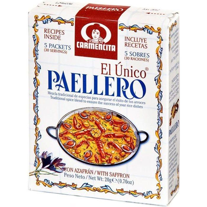 ÉPICES & HERBES Assaisonnement Paellero pour Paela