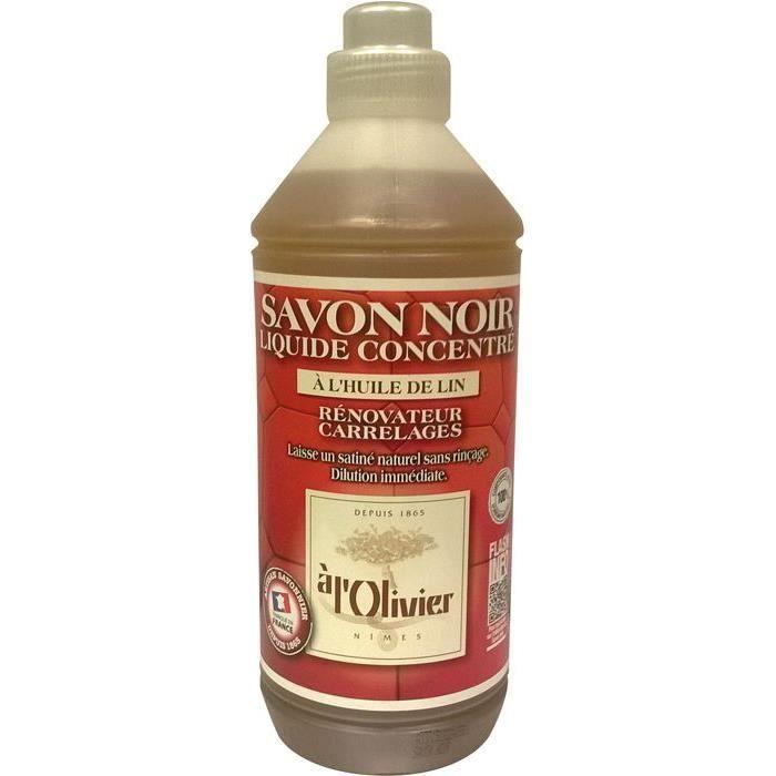 SAVON - SHAMPOING BÉBÉ Savon noir liquide a l'olivier - 1 L