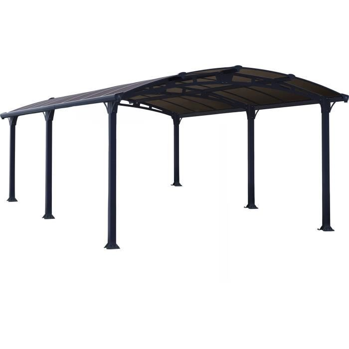 carport aluminium arcadia 5000 achat vente carport. Black Bedroom Furniture Sets. Home Design Ideas