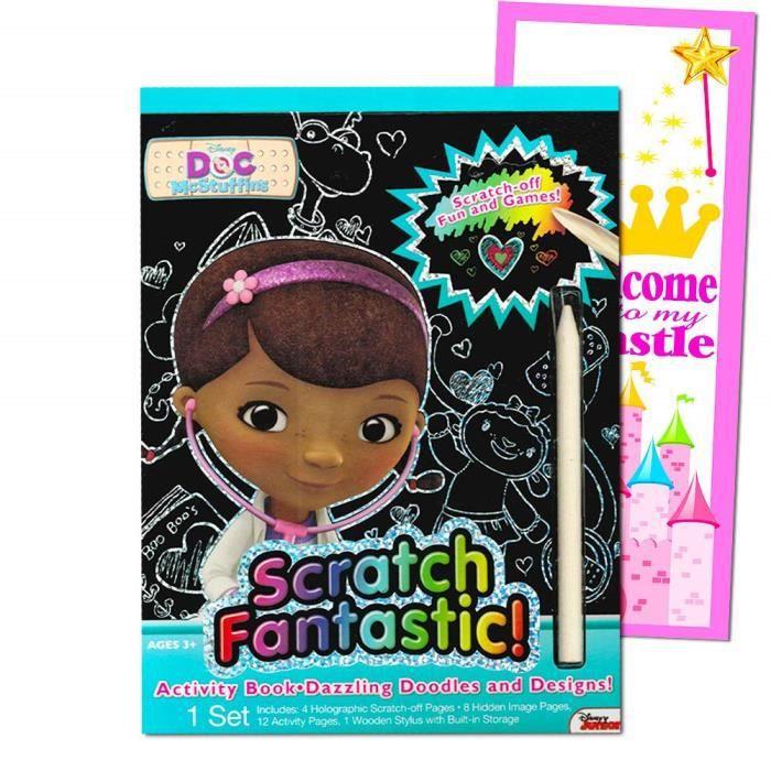 Jeu De Coloriage S9p3a My Little Pony Scratch Livre Fantastique Achat Vente Peluche Cdiscount