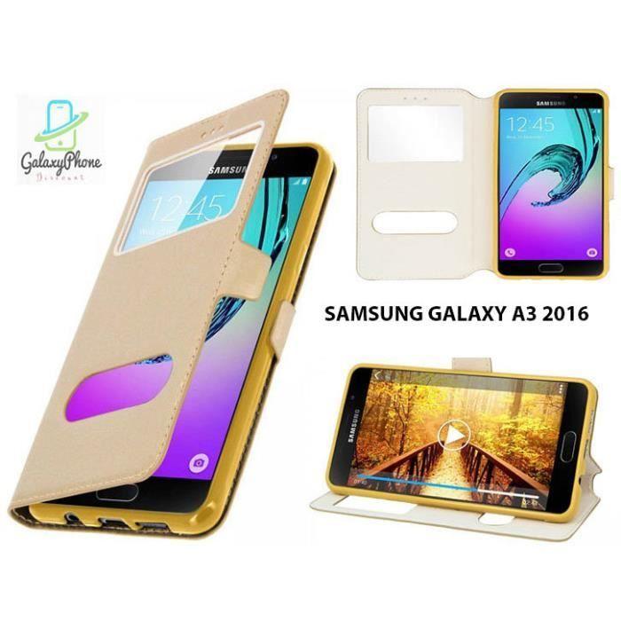 Etui Samsung Galaxy A3 2016 or - Achat housse - étui pas cher ...