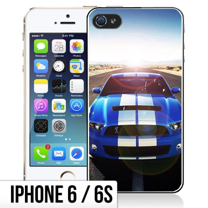 coque iphone 6 6s ford mustang shelby