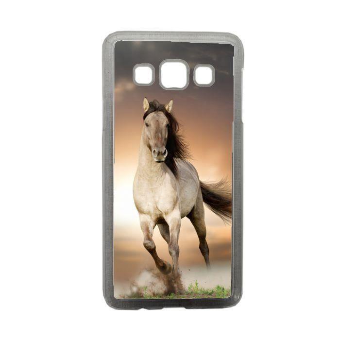 Coque cheval blanc compatible samsung galaxy a3 transparent ...