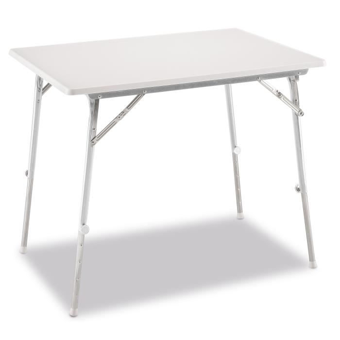 Table camping pied reglable for Pieds de table design pas cher
