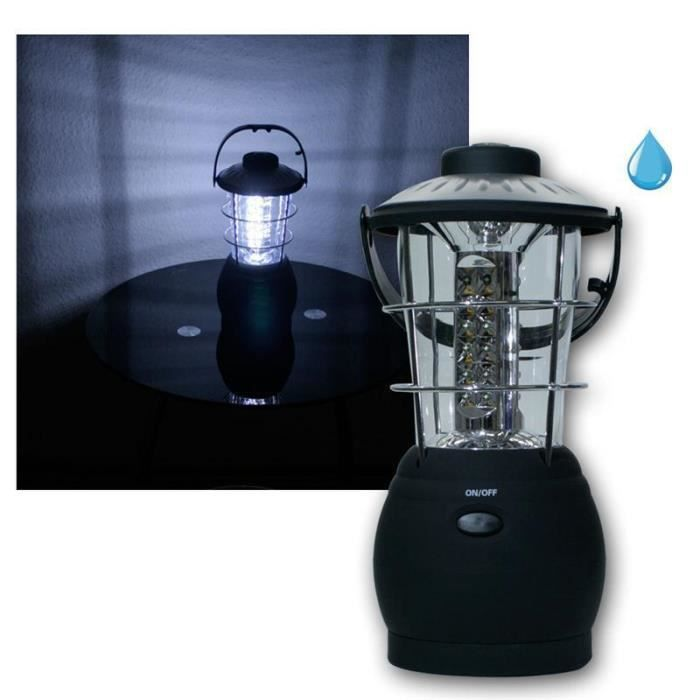 LED Camping Lanterne//Jardin Lanterne 36 LEDs Blanc Lampe