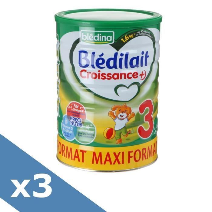LAIT BÉBÉ BLEDINA Blédilait Croissance+ - Lait en poudre - 3