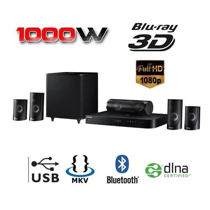 samsung ht h5500 home cin ma 5 1 1000w blu ray 3d bluetooth ensemble home cin ma avis et prix. Black Bedroom Furniture Sets. Home Design Ideas