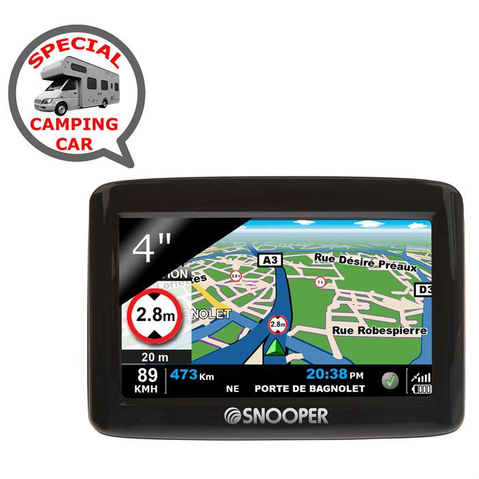 gps snooper ventura cc1000 camping car achat vente gps auto gps snooper ventura cc1000. Black Bedroom Furniture Sets. Home Design Ideas