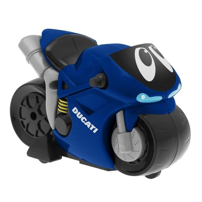 CHICCO Moto Turbo Touch Ducati Bleu - Achat   Vente voiture - camion ... adeb13d3ed51