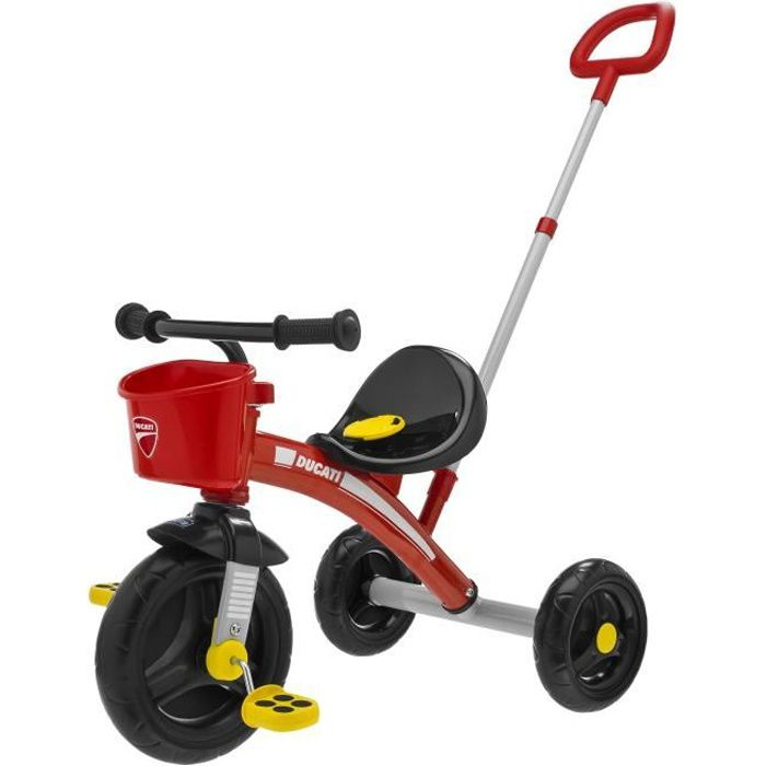 Tricycle u/go rouge Ducati de Chicco