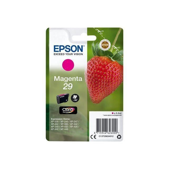 CARTOUCHE IMPRIMANTE EPSON Cartouche T2983 - Fraise - Magenta