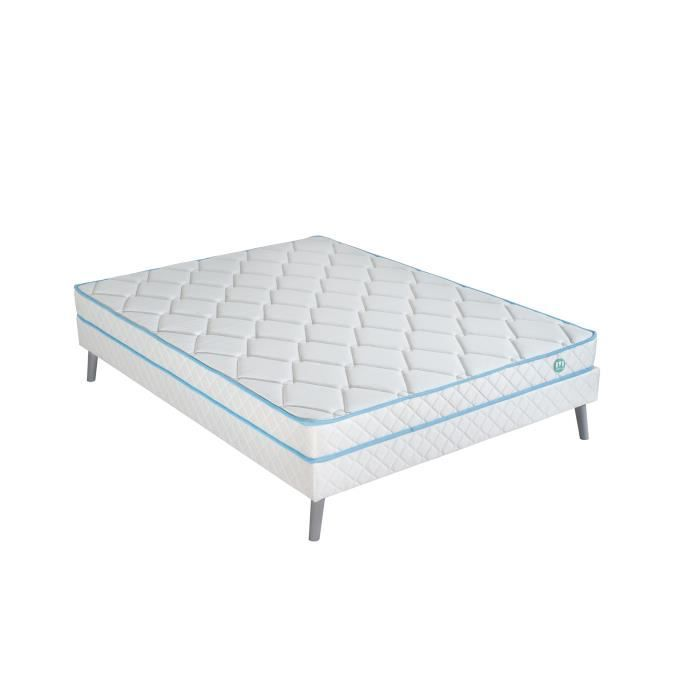 merinos matelas sommier hoping 140x190 cm mousse hr 16 cm ferme 35kg m3 2 personnes. Black Bedroom Furniture Sets. Home Design Ideas