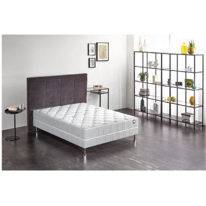 ensemble matelas sommier 140x190 bultex achat vente pas cher. Black Bedroom Furniture Sets. Home Design Ideas
