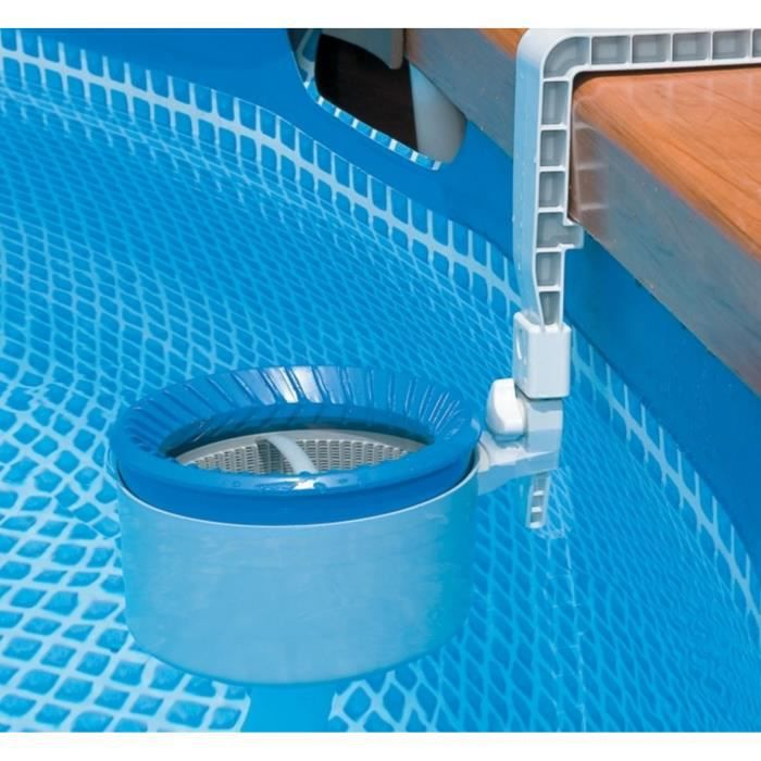Intex skimmer de surface deluxe pour piscine achat for Piscine autoportante intex