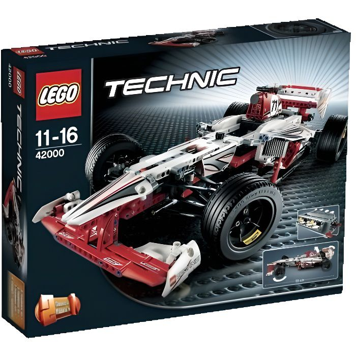 lego technic 42000 la voiture de f1 achat vente assemblage construction cdiscount. Black Bedroom Furniture Sets. Home Design Ideas