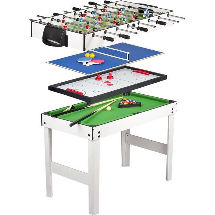 Table multi jeux 4 en 1 - Table multi jeux 5 en 1 ...