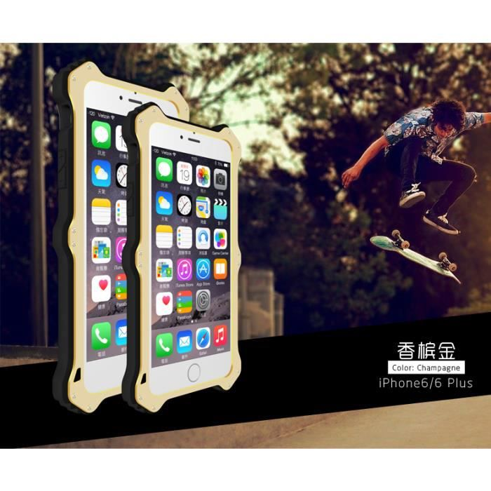 coque iphone 6 love mei induction mk2 champagne achat coque bumper pas cher avis et. Black Bedroom Furniture Sets. Home Design Ideas