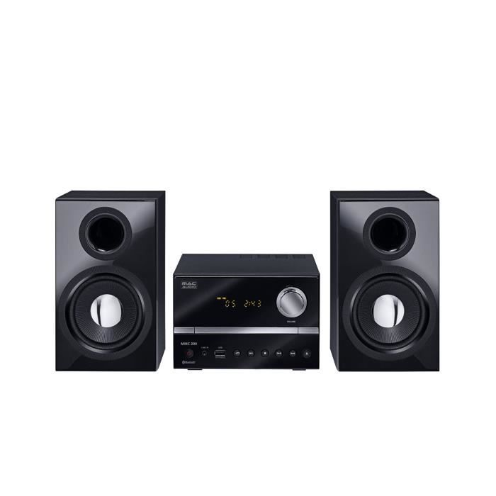 micro chaine hifi bluetooth cd mac audio mmc 200 enceintes avis et prix pas cher cdiscount. Black Bedroom Furniture Sets. Home Design Ideas