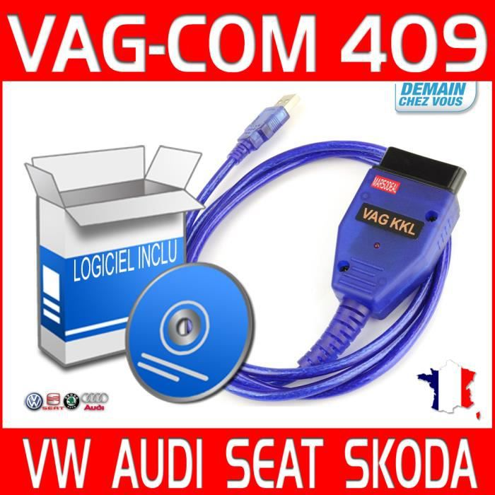 vagcom obd odb2 obd2 kkl usb 409 1 cd logiciels vag com scan diag achat vente outil de. Black Bedroom Furniture Sets. Home Design Ideas
