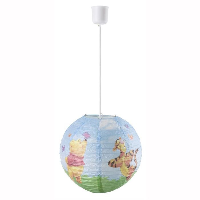 Winnie suspension boule en papier achat vente winnie for Suspension boule