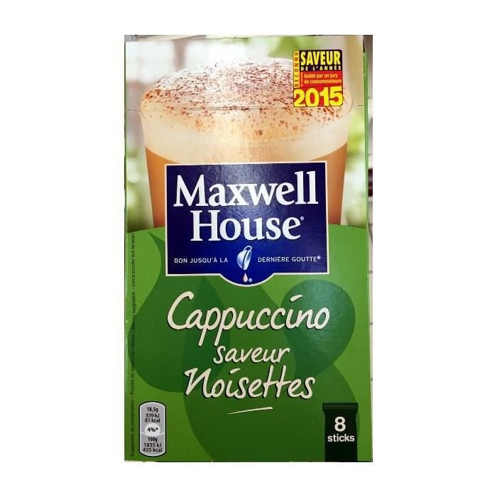 Maxwell house cappuccino noisette