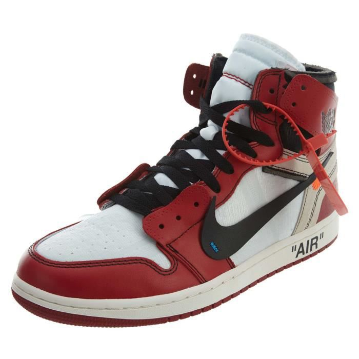 Basket Nike AIR JORDAN 1 X Off-White Retro High 'Chicago ...