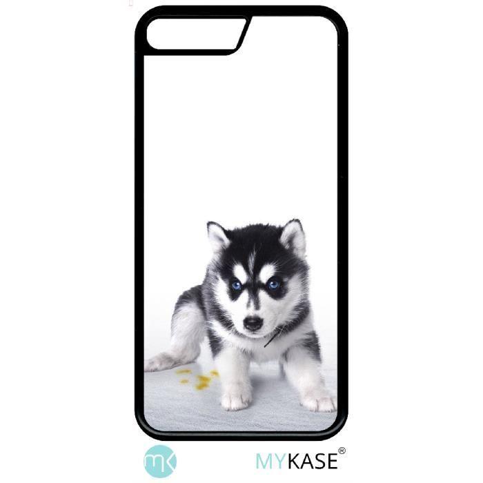 Coque compatible avec apple iphone se 2020 - bebe chien husky ...