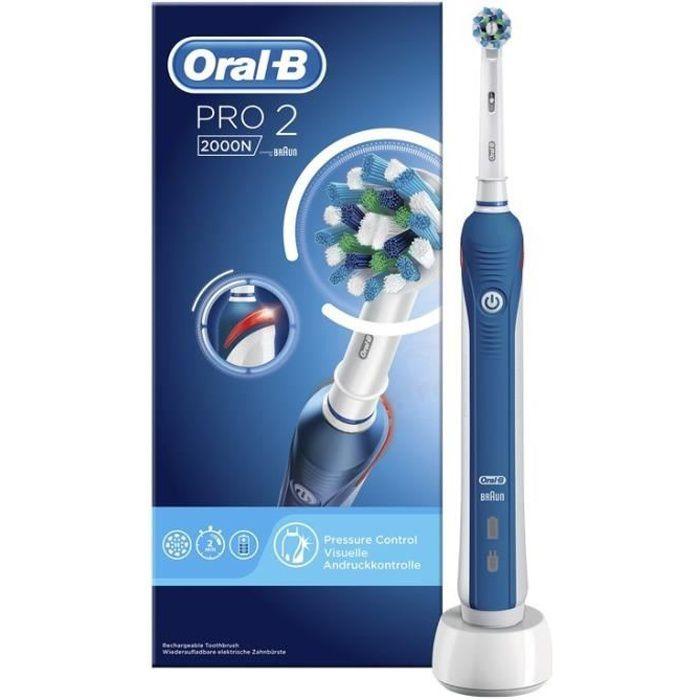 BROSSE A DENTS ÉLEC Oral-B PRO 2 2000N CrossAction Brosse à dents élec