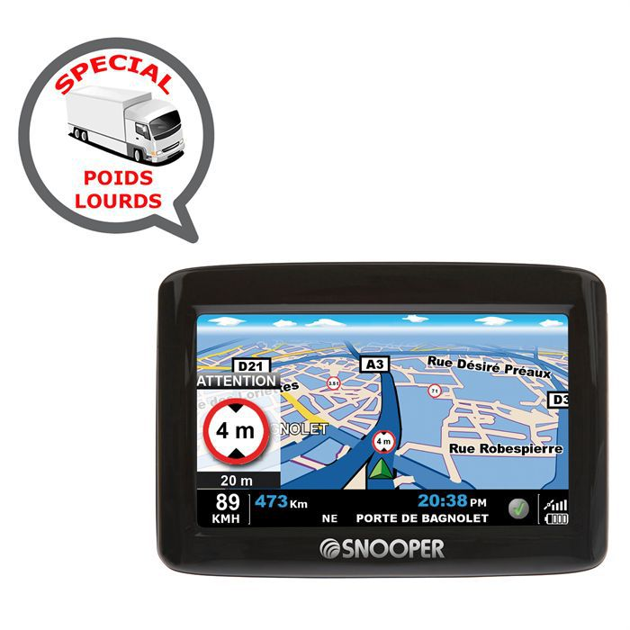 gps snooper truckmate pl1000 poids lourd achat vente gps auto gps snooper truckmate pl1000. Black Bedroom Furniture Sets. Home Design Ideas