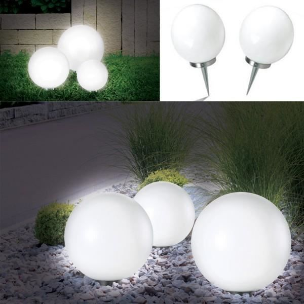 lampe exterieur boule achat vente lampe exterieur. Black Bedroom Furniture Sets. Home Design Ideas