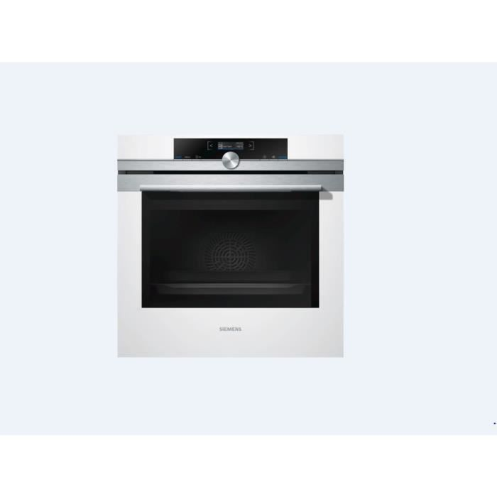 Siemens hb633gbw1j four encastrable blanc 60cm achat - Four blanc encastrable ...