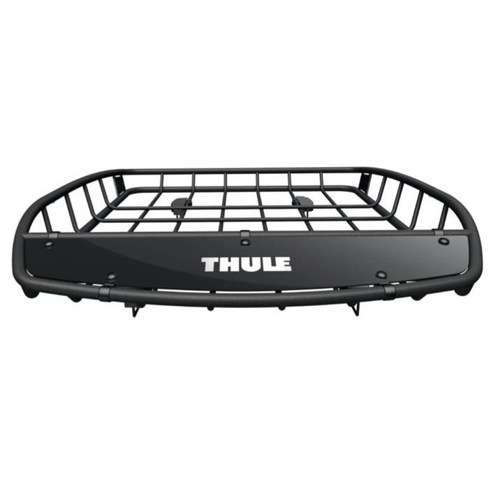 thule canyon 859 panier galerie de toit auto noir achat vente galerie thule canyon 859. Black Bedroom Furniture Sets. Home Design Ideas