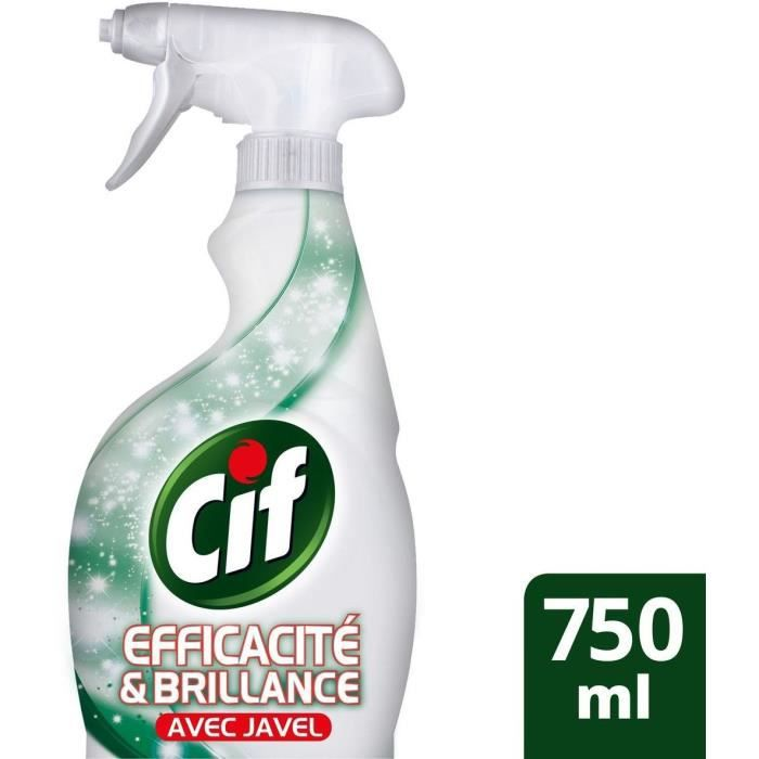 Cif cr me javel 750ml achat vente nettoyage multi usage cif power cream javel 750ml les - Teindre un vetement tache de javel ...