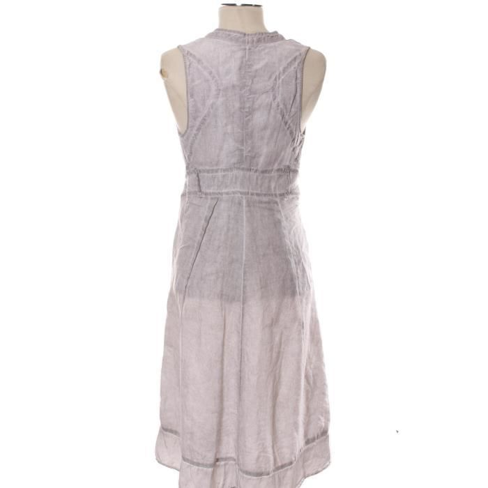 Robe ONE STEP 36 Gris en Viscose