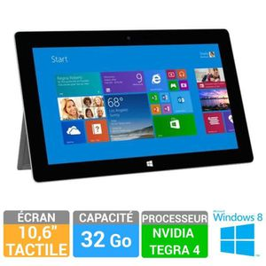 Tablette Microsoft Surface 2 32Go + Clavier