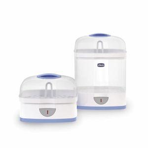Chauffe-biberon st/érilisate sans BPA St/érilisateurs /électriques St/érilisateur /électrique /à vapeur aliments pour b/éb/és St/érilisateur de biberon pour biberons St/érilisateur 2-en-1