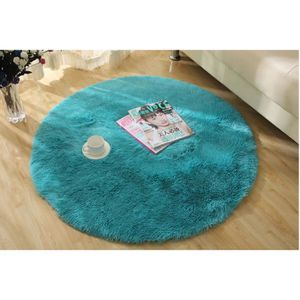 tapis rond 80 cm achat vente tapis rond 80 cm pas cher cdiscount. Black Bedroom Furniture Sets. Home Design Ideas