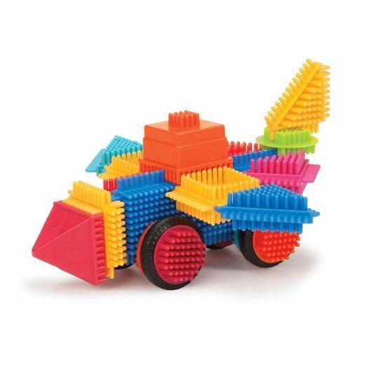 44685 Bristle Blocks Jeu de Construction Coffre de Grande Valeur 80 Pi/èces