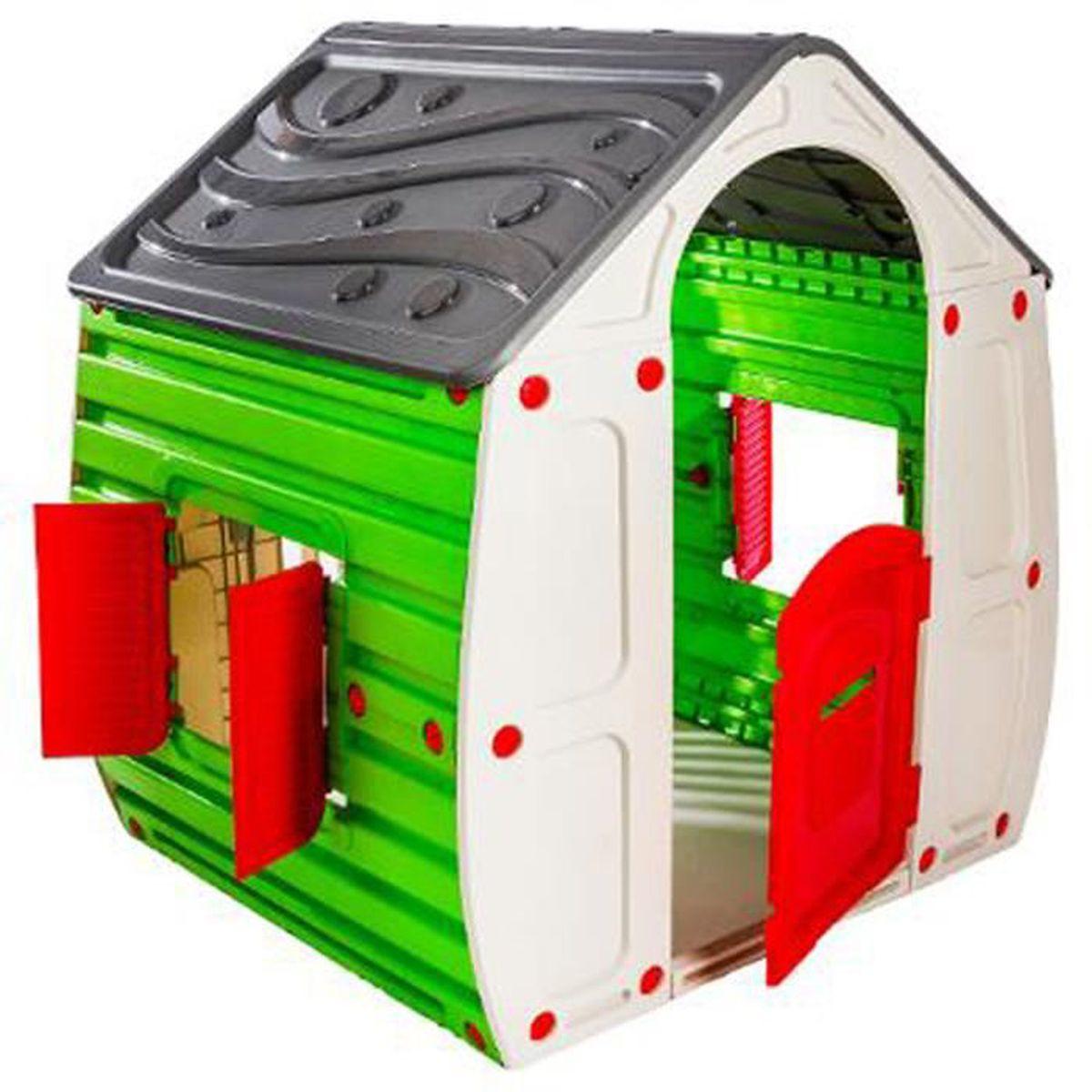 Maison Pour Enfant Exterieur maison magique pour enfants en polypropylène - dim : 102 x 90 x 109 cm