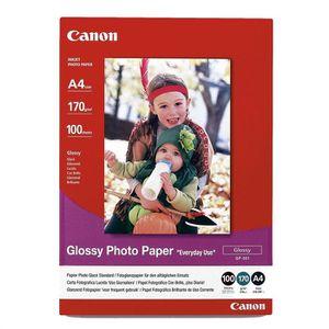 CARTOUCHE IMPRIMANTE CANON Pack de 1  Papier photo inkjet brillant 210g
