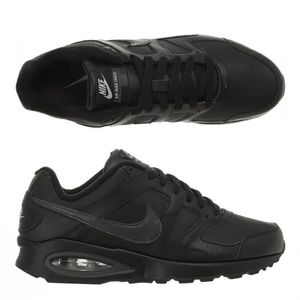 NIKE Baskets Cuir Air Max Chase Leather Homme Noir et
