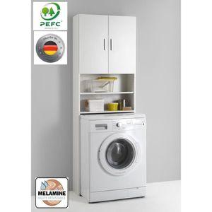 COLONNE - ARMOIRE WC Meuble pour machine à laver OLBIA