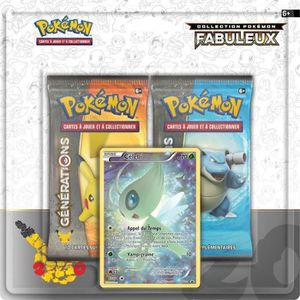 CARTE A COLLECTIONNER POKEMON Duo Pack 20 ans Février