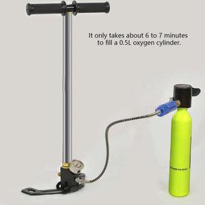 LOT MATÉRIEL AQUATIQUE MILLIONTEK Gonfleur portatif manuel de pompe à air