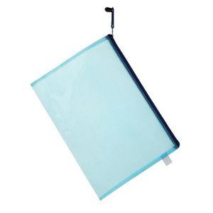 Protège-document Dossier en plastique de sac de fermeture à glissiè