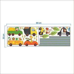 Stickers chambre garcon voiture